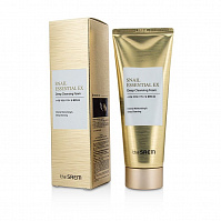 Пенка для умывания The Saem Snail Essential EX Wrinkle Solution Deep Cleansing Foam 150ml